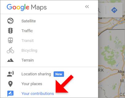 using maps