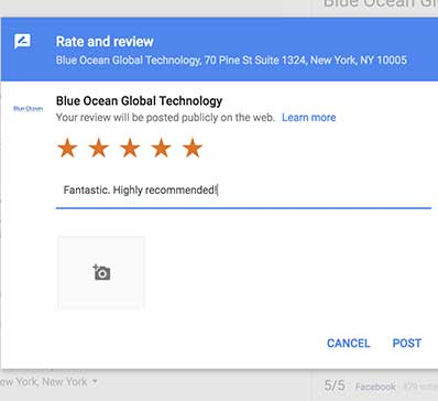 improve google reviews