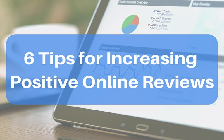 tip for increasing positive online reviews