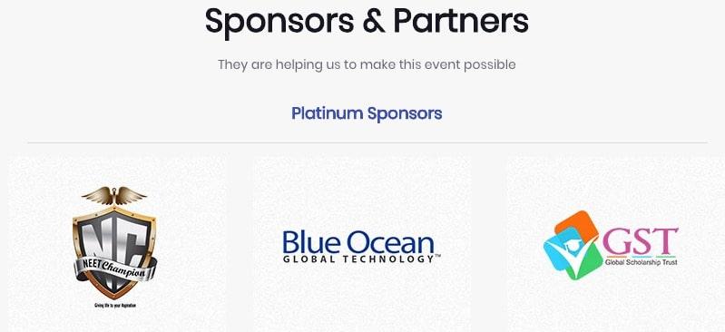 Blue Ocean Global Tech Sponsors