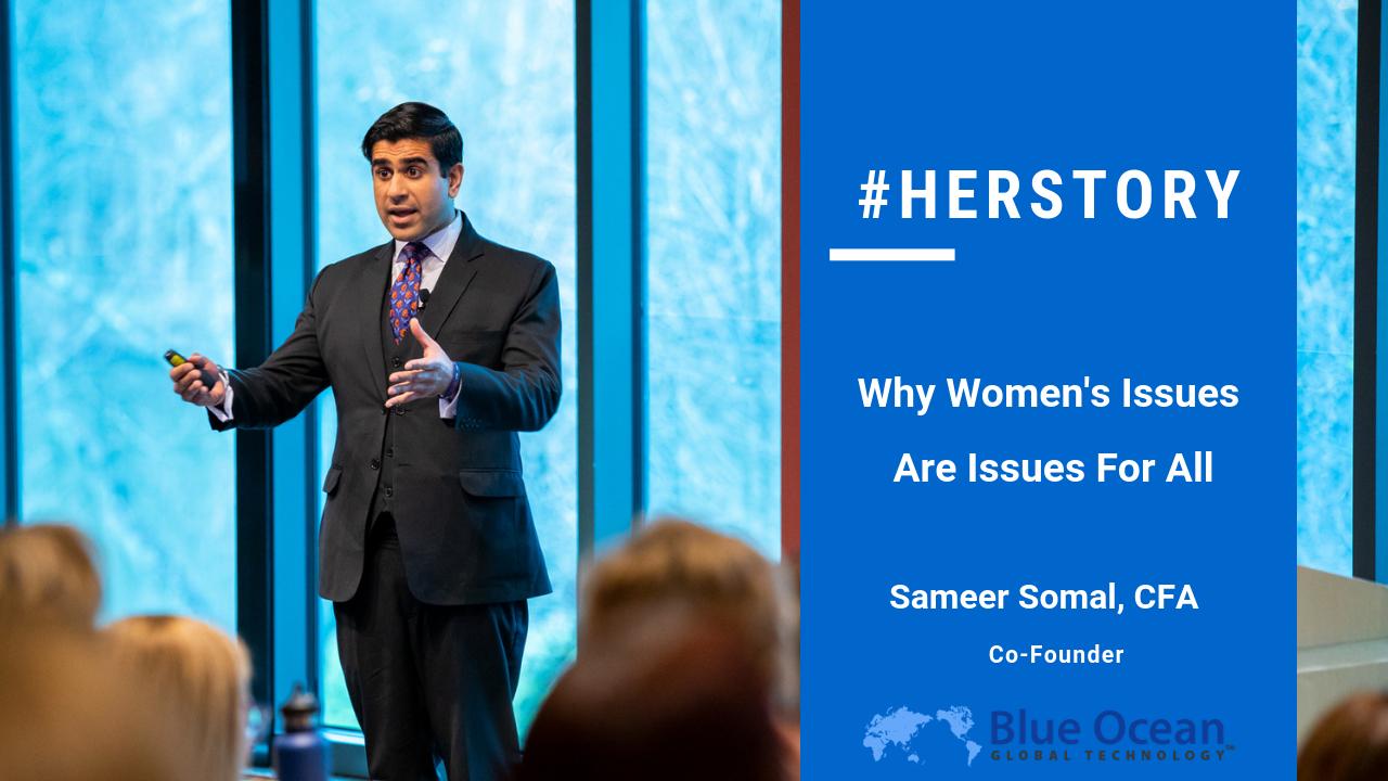 Sameer Somal presents at SEI Women Leadership conference